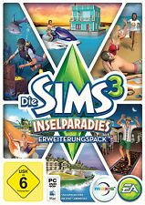 Die Sims 3 : Inselparadies (PC/Mac, 2013, in  DVD-Box) mit DVD - Deutsch !