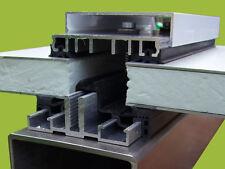 ALU VERLEGEPROFILE  - GLASVERLEGEPROFILE  Glasbefestigung auch für den Metallbau