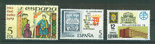 SPAIN ESPAÑA 1979 MNH SC.2151+2153+2176 Philatelic