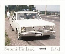 Plymouth Valiant Classic Official Vintage Finland Police Car MNH Stamp 2013