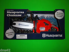 NEW HUSQVARNA TOY CHAINSAW WITH ROTATING CHAIN   GREAT CHRISTMAS GIFT 522771101