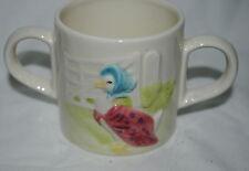 Beatrix Potter, Jemima Puddle-Duck, 2-handled porcelain mug, Schmid