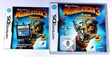 Jeu: Madagascar 3 pour la Nintendo DS + Lite + DSI + XL + 3 DS 2 DS