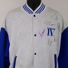 Diamond Rio IV Varsity Jacket Vtg 90s Signed By All Members Made In USA Mens XL