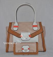 GUESS Keita Avery Shoulder Bag Purse Handbag Satchel Tote Wallet File Clutch New