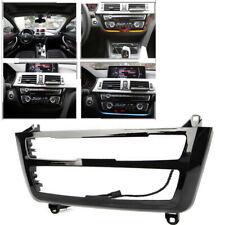 Black Car LED Light Dash AC Radio Panel Trim Decor for BMW 3 & 4 Series F30 LCI