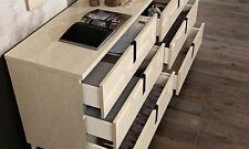 Schlafzimmer Kommode Sideboard Highboard Extra Lang Beige Moderne Möbel Italien