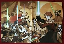 Star Wars: Tales From The Clone Wars - CV Heroes Folded Poster - Tom Hodges