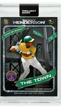 TOPPS PROJECT 2020 Card 71 Rickey Henderson by Ben Baller PRESALE