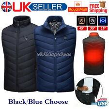 Men Women Teens Electric Vest Heated Jacket USB Warm Up Heating Pad Body Warmer