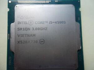 INTEL CORE i5-4590s @  3.0GHz QUADCORE LGA 1150 CPU