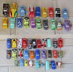 DISNEY PIXAR CARS LOT -49 DIECAST CARS - NASCAR - WORLD GRAND PRIX - MINI CARS+
