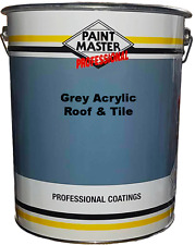 Paintmaster Heavy Duty Acrylic Roof And Tile Paint - Grey - 20 Litre
