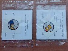 2 adesivi x cellulare SIMPSON  MARGE e BART NUOVI SAN CARLO