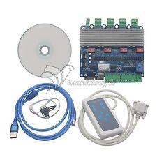 4 Axis CNC Controller TB6560 Stepper Motor Driver Board USB6560T4V3 USBCNC