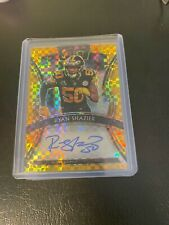 RYAN SHAZIER steelers 2019 PANINI SELECT gold prizm AUTOGRAPH CARD 10/10