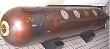 MK-27 Cutie US Anti-Ship Homing Torpedo Desk Wood Model