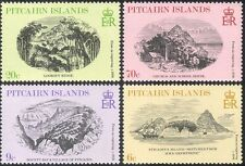 Pitcairn Islands 1979 Art/Drawing/Building/Architecture/Nature 4v set (n13741)