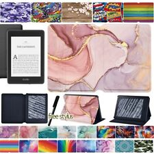 Leather Case Cover For Kindle Paperwhite 5th 6th 7th 10th / Kindle 10th gen 2019