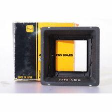 Toyo Objektivplattenadapter Versenkt für View & Field 45A Objektivplatten