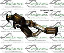 Catalytic Converter-Exact-Fit Front Davico Exc CA 17370