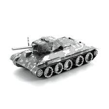 Fascinations Metal Earth 3D Steel Model Kit WWII 1940 to 1958 Soviet T-34 Tank