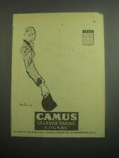 1948 Camus Cognac Ad - La Grande Marque Cognac