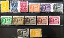 Venezuela #389-391,C206-215 Complete Set 1945 MH