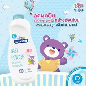 6pcs.Kodomo Baby Powder Extra Mild Natural Soft Protection Gentle Sensitive Skin