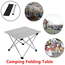 Ultralight Aluminum Camping Folding Table Outdoor Picnic Beach BBQ Garden Desk