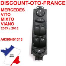 Commutateur de vitre électrique Mercedes-Benz Viano et Vito Nouveau A6395451313