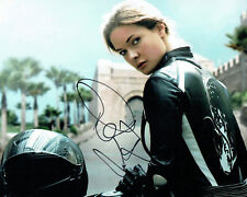 Rebecca FERGUSON SIGNED Autograph 10x8 Photo 3 Mission Impossible AFTAL COA