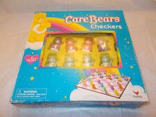 Care Bears Checkers Board Game - 24 Checker Pieces - 2004 Cardinal