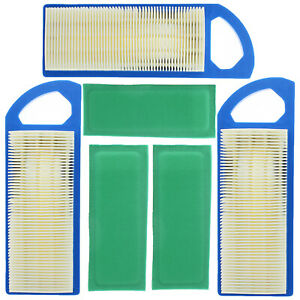 3pcs Air Filter for Briggs & Stratton 698083 677014 695547 697014 697153 697634