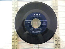 THE CAPITOLS- WE GOT A THING THATS IN THE GROOVE- TIRED RUNNING FROM YOU- 45RPM-