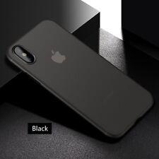 Basic Slim Plastic Phone Case Cover Apple iPhone X XR XS Max Pro Plus 11 8 7 6