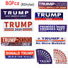 80Pcs Donald Trump For President 2020 Keep America Great Bumper Car Stickers US
