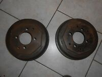MORRIS MARINA 1.3 (including van) 1971-78,PAIR FRONT BRAKE DRUMS