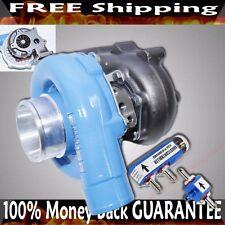EMUSA T3/T4 T3T4 T04E Turbocharger HYBRID  .63 A/R Turbine+Boost Controller BLUE