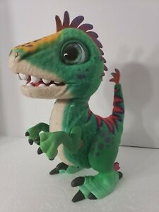 FurReal Friends MUNCHIN REX Baby Dinosaur Animated Interactive Green Collectible