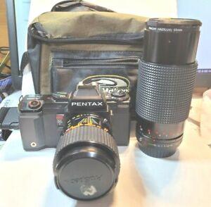 Vintage Pentax A3000 35mm SLR Film Camera and Lens