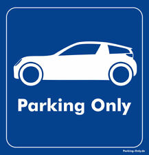 Parking Only - Smart RoadsterCoupe - Aufkleber