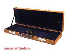 Pro. New Brown Wooden 12-Bow Case - Fit 4/4 violin/viola/cello bows