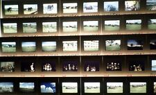 Lot of 77 Slides 1971 E. Africa Hippos, Elephants, Natives, Scenery & Waterfall!