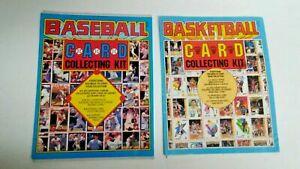 Vintage NBA 1993 Basketball Card MLB 1994 Baseball Card Collecting Kit