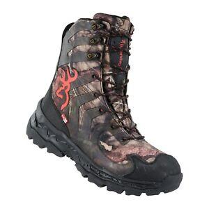 Browning Mens Buck Shadow Waterproof Boots MO Country/Black MSRP $180-200