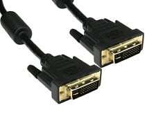 DVI Cable DVI-I Male Dual Link Cable lead 28 +1 Digital & Analog 29 PIN 5 Metre
