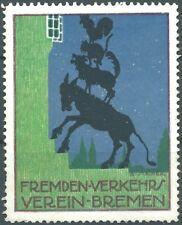 BREMEN - Fremden-Verkehrs-Verein, Künstler Entw.: B. Steiner (#26176-2)