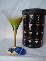 Lolita Glasses Martini Collection Sex on the Beach Recipe Love My Martini W/Box