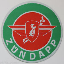 Zundapp iron on patch, woven, motorcycle, scooter, mods, rockers, bikers